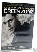 VERDE Zone DVD REGIONE 2 NUOVO SIGILLATO Matt Damon