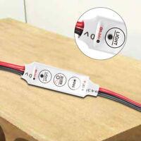 LED Dimmer 12A 12V-24V for LED Strips Monochrome Controller E4Q1