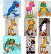 Springy Animal- baby Nursery Mobile gift, horse, giraffe, monkey t-Rex etc