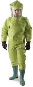 chemical x1 Hazmat suit Respirex Tychem XL Biocide viral protection NEW