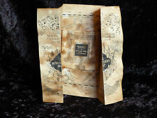 Handmade aged Marauders Map. Harry Potter