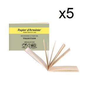 Carnet Papier d'Arménie Triple - PAPIER ARMENIE LOT DE 5 Carnets
