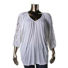 Career Plus Size 100% Cotton Tops & Blouses for Women