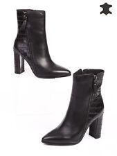 Ankle boot/ Tronchetto di pelle da Donna/ 39 num.