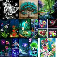 AU_ DIY 5D Diamond Painting Embroidery Cross Craft Stitch Art Kit Home Decor Sur