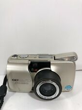 Olympus Mju Zoom 105 Weather Proof Compact 35mm Film Camera Silver Panorama