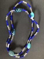 ELEKE Collar De Orisha YEMAYA decor Ileke Santeria  Yoruba / Collar Religioso