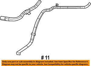 CHRYSLER OEM-Vacuum Hose 5085680AF