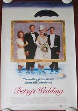 BETSY'S WEDDING ~ Original (1990) 27x40 Movie Poster ~ ROLLED ~  MINT CONDITION!
