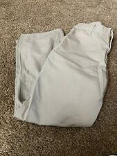 Carhartt Men Sz 37 X 31  Cargo Jeans Khaki Construction Work