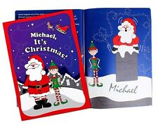 PERSONALISED CHRISTMAS ELF STORY BOOK - LET YOUR CHILD BE THE STAR - NEW