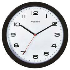 Acctim Aylesbury Wall Clock Black 92/302 [ANG92302]