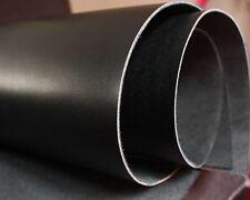 "Black Veg Tanned Leather Full grain Craft Repair 12""x12"" various sizes"