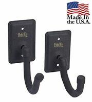Gun Rack Horizontal Hanger Hooks For Rifle Shotgun and Bow - Made in USA HD04-FW