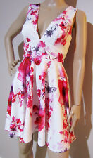 ASOS size UK 6 EU 34 US 2 AUS 6 floral rose a-line stretch DRESS as new with tag