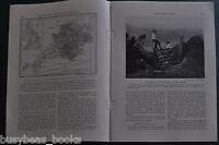 1929 magazine article, DOWN DEVON LANES, travels in England