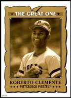 Roberto Clemente 2021 Topps Heritage 5x7 The Great One Gold #GO-22 /10 Pirates
