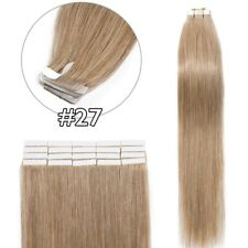 BIG SALE Seamless Tape in Long Remy Real 100% Human Hair Extensions Skin Weft HQ