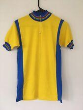 Vintage Wool Cycling Jersey w/ Champion Stripes