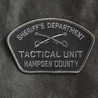 Hampden County Sheriff's Dept Tactical Unit Patch - Massachusetts