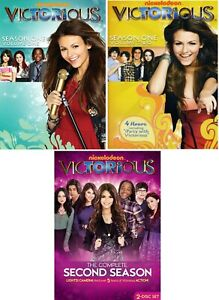 Victorious TV Series The Complete Season 1 & 2 (1-2) NEW DVD Set Volume One Two