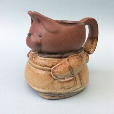 RETRO GEMPO POTTERY JAPAN - AUSTRALIA Teddy Bear Figural Jug 1970s Collectable