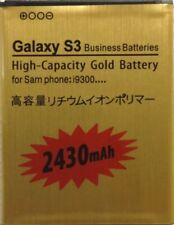Premium 3800mAh Li-ion Gold Replacement Battery for Samsung Galaxy S3 SIII I9300
