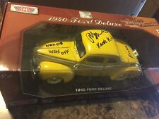 Ralph Macchio The Karate Kid AUTOGRAPHED 1:18 Scale 1940 Ford Diecast Car PROOF