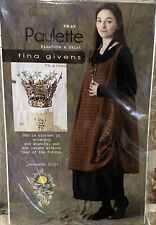 New & Unopened Tina Givens PAULETTE  Pinafore & Skirt  Fits SZ XS-2X  TG-A7063