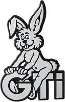 Bunny Relief Emblem Schild 3D GTi Hase Häschen Rabbit HR Art. 4906 selbstklebend