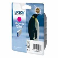 GENUINE AUTHENTIC EPSON T5593 MAGENTA INK CARTRIDGE C13T55934010