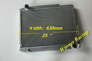 Radiator Fit Mercedes W107 350/380/450 SL/SLC;R107/C107 350/380/450 SL/SLC 71-89