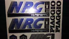 Piaggio NRG MC3 Decals / Sticker kit graphics Blue/Silver/Black