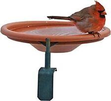 Audubon by Woodink NABATH Deck Mount Bird Bath, 1 Quart Cap, Tan