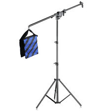 """Neewer Photo Studio Reflector Arm Stand Kit with 75"""" Light Stand and Boom Arm"""