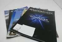 Magazine Aviation Weekly 6 Total Issues 2 From These Years 2009, 2010, & 2011