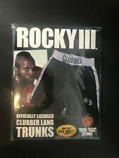 Rocky III short Clubber Lang BOXE ROCKY BALBOA sous licence officielle