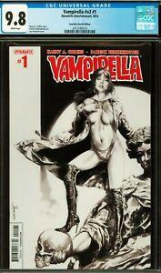 Vampirella #1 CGC 9.8 Anacleto Sketch Variant LTD 100 Dynamite Comics 2014