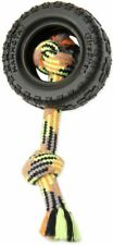 """LM Mammoth TireBiter II Rope Dog Toy 3.75"""" Long"""
