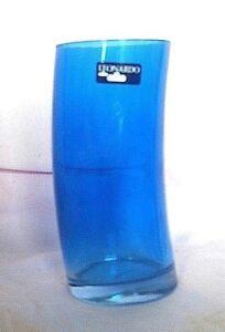 Leonardo Swing Highball Beverage Drinking Glass 12 oz Cobalt Tumbler Germany