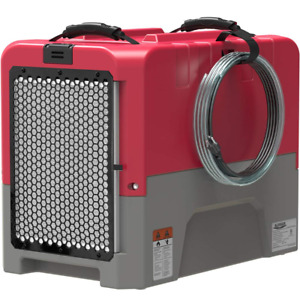 ALORAIR 180 Pints Commercial Dehumidifier for Water Damage Restoration, Red