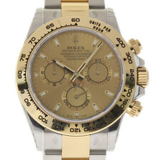 Rolex 116503 40mm Daytona Stainless Steel & 18k Gold Watch White Dial