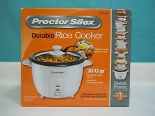 Proctor Silex 37533 10-cup (cooked) Rice Cooker, White / Free shipping