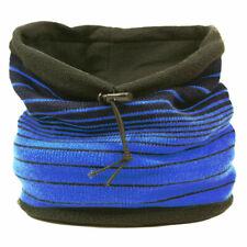 FULL 5G EMF Wifi 360GHz radiation shielded face/neck cover in Blue/Black stripes