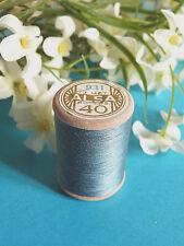 729b / Beautiful Coil Old Wire DMC Cotton Alsa No. 40 Blue Steel No. 931