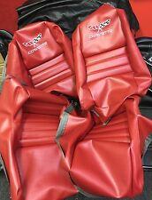 """1979 - 1982 Corvette Seats Cover(Red 2"""" bolster)"""