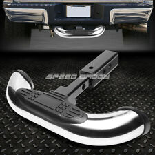 """1.25/2"""" RECEIVER CHROME TRAILER TOWING TAILGATE/HITCH COVER REAR STEP BAR GUARD"""