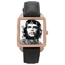 Che Guevara Rose Gold Leather Watch