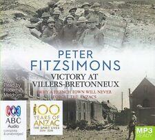 Peter FITZSIMONS / VICTORY at VILLERS-BRETONNEUX       [ Audiobook ]