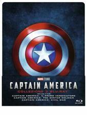 Captain America Trilogie - 1-3 Trilogy Blu-ray Steelbook - geprägt -NEU/OVP